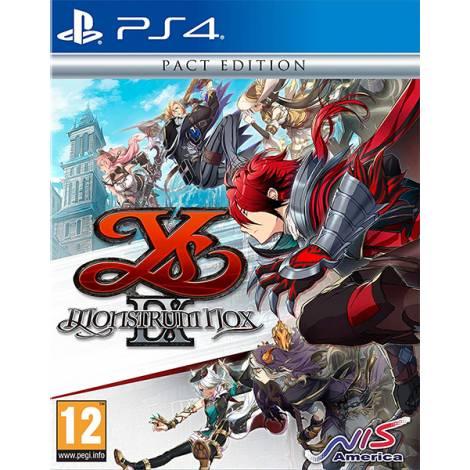 Ys IX: Monstrum Nox - Pact Edition (PS4)
