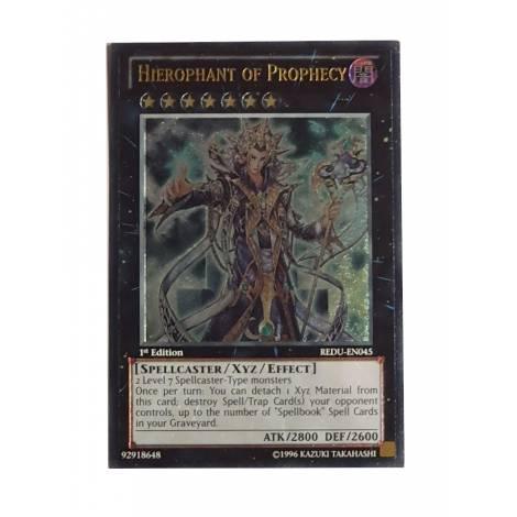 Yu-Gi-Oh! Hierophant of Prophecy - REDU-EN045 - Ultimate Rare