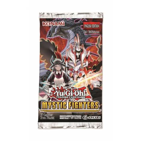 YuGiOh Mystic Fighters Booster Pack