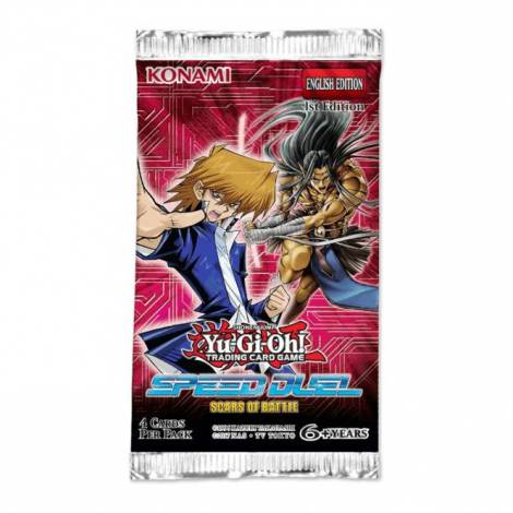 YuGiOh Speed Duel Scars Of Battle Booster Pack