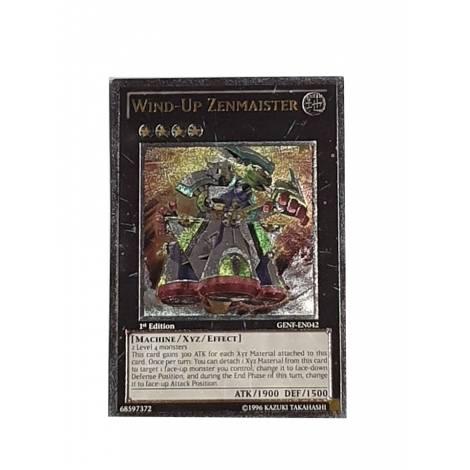 Yu-Gi-Oh! Wind-Up Zenmaister  (GENF-EN042)