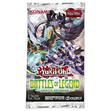 YuGiOh - Battles Of Legend : Heroes Revenge - Booster Pack