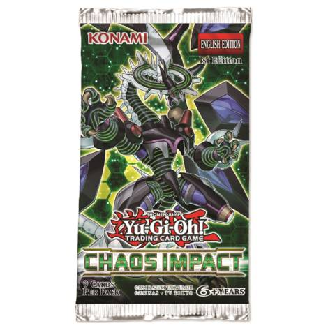 YuGiOh - Chaos Impact Booster Pack