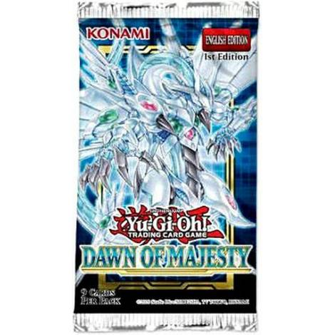 YuGiOh! Dawn Of Majesty Booster Pack (KON849705)