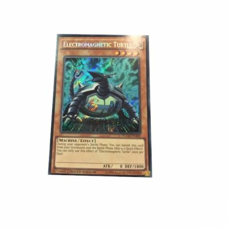 YuGiOh! Electromagnetic Turtle YGLD-ENA00  (Secret Rare)