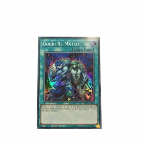 YuGiOh! - Gouki Re-Match - Super Rare  COTD-EN054