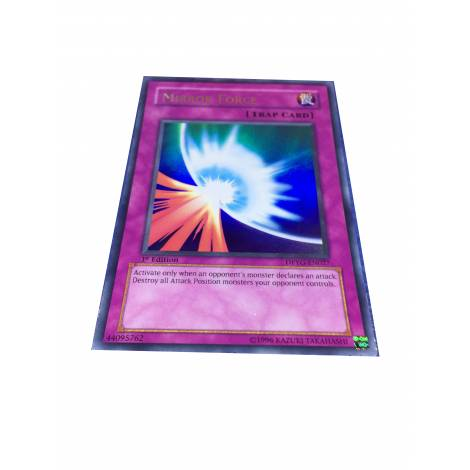 YuGiOh Mirror Force - Ultra Rare 1st Edition - DPYG-EN027