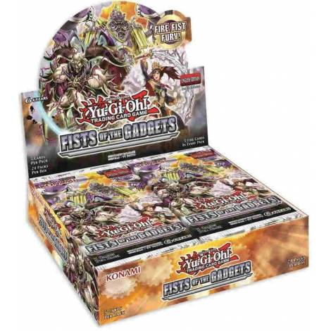YuGiOh! Shonen Jump - Fists Of The Gadgets Booster Box
