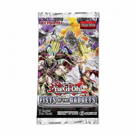 YuGiOh! Shonen Jump - Fists Of The Gadgets Booster Pack