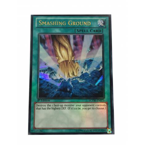 YuGiOh Smashing Ground - Ultra Rare 1st Edition - LCYW-EN275