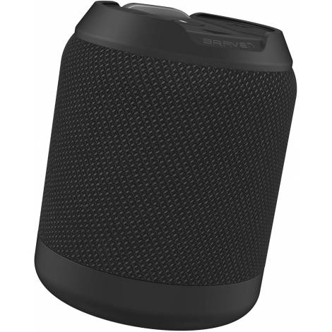 Zagg Braven BRV-MINI Rugged IPX7 Waterproof Bluetooth Speaker with Wireless Stereo Pairing and Boosted Bass - Black (604203553)
