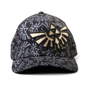 ZELDA - BLACK FLEX ZELDA LOGO CAP