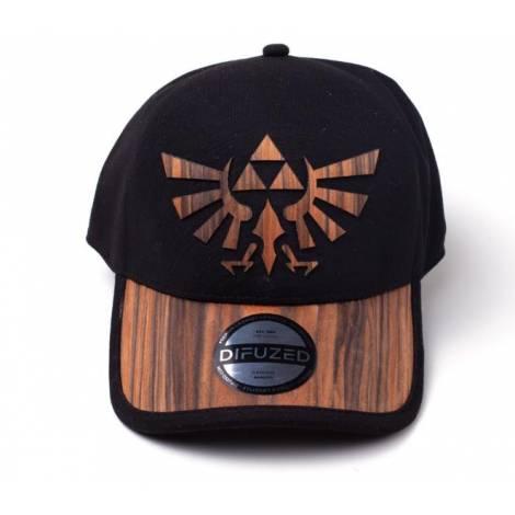 Zelda - Wooden Seamless Hyrule Cap (BA803747ZEL)