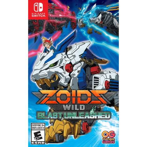 Zoids: Wild Blast Unleashed (Nintendo Switch)